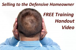 Selling to a Defensive Client Free Training
