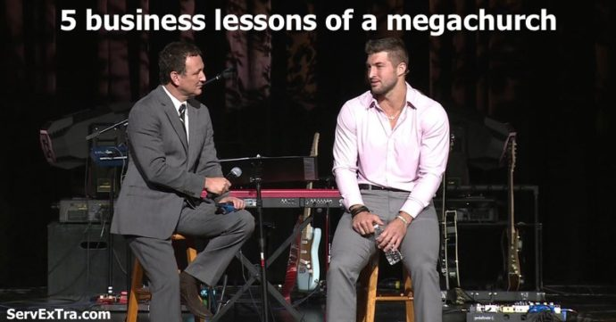 5 business lessons of a megachurch