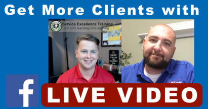 Get More Clients With Facebook Live Video - Plumbing - Electrical - HVAC - Air Conditioning