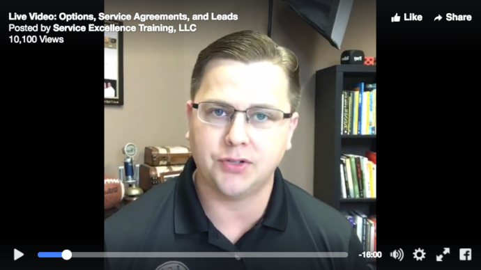 How Techs can sell service agreements, options, and convert replacement sales