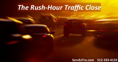 The Rush Hour Traffic Close for Service Techs, HVAC Service Techs, Plumbers, Electricians