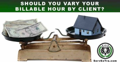 Time and Material versus Flat Rate. Billable Hours. Residential Service.
