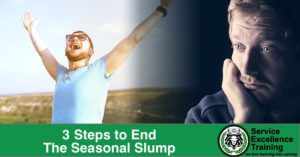 3 Steps to End The Seasonal Slump