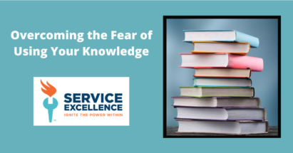 how service techs can overcome the fear of using their own knowledge