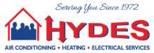 Hydes HVAC Company Logo